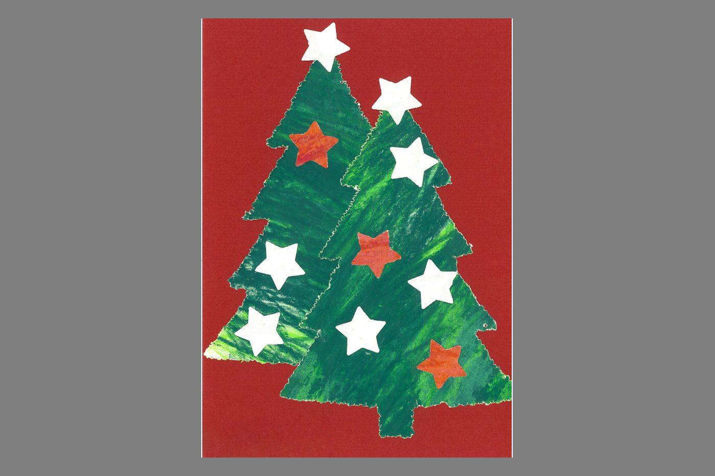 Individualisierte Weihnachtskarten.Weihnachtskarten Züriwerk
